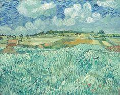 Vincent van Gogh: Plain at Auvers, 1890