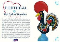 Projek Satu Dunia (One World Project)™: Portugal - The Cock of Barcelos