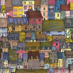 City Rooftops, by Danny Roberts on Society6
