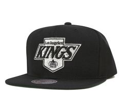 61fc97d179063 Mitchell   Ness LA Kings Solid Cap Black
