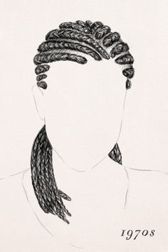 Image result for cartoon images of braid hair