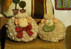 Curly Sheep #felt #sew #crafts #felt