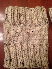 Ravelry: Ondina's Boot Cuffs-free- pattern by Autumn Burns