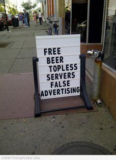 Topless Servers
