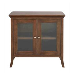 Barnaby Storage Cabinet Vintage Oak - Threshold™ : Target