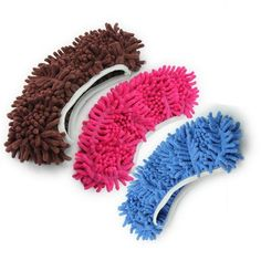 A great stocking stuffer or hint for those relatives that don't have the cleanest floors. Niceeshop Multifunction Chenille Fibre Washable Dust Mop Slippers, $3,  amazon.com