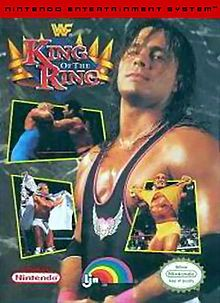 Wrestling game cover Art | WWF King of the Ring