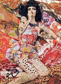 Steven Meisel  Vogue Pattern 2007
