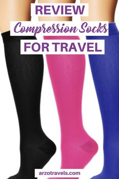 Find out about the best compression socks for travel: Find out why you need good travel compression socks and how to find the perfect ones for you! Travel Items, Travel Gifts, Travel Products, Travel Wear, Travel Books, Travel Necessities, Travel Essentials, Packing Tips For Travel, Travel Advice
