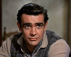 """A pre James Bond Sean Connery in Disney's """"Darby O'Gill And The Little People"""" His first starring performance, I believe. Sean Connery Young, Sean Connery James Bond, Sean Connery Movies, Scottish Actors, British Actors, Old Hollywood Stars, Classic Hollywood, Hollywood Actor, Hollywood Glamour"""