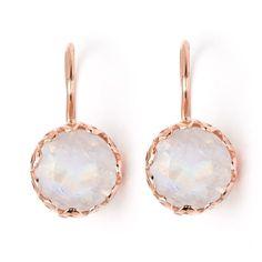 Perfect drop earrings from Greenwich Jewelers, rose gold Arik Kastan Moonstone Earrings Moonstone Earrings, Moonstone Ring, Drop Earrings, Bridal Accessories, Jewelry Stores, Fine Jewelry, Jewellery, Jewelry Watches, Accessories