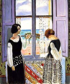 El Spleen de París • Henri Matisse: La espera, 1922.
