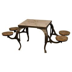Edinburgh Parlor Table-cool huh? I see this in an eat in kitchen, you?