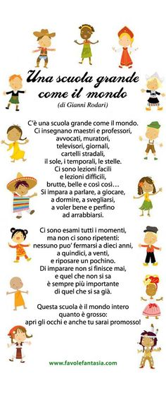 Una scuola grande come il mondo - Gianni Rodari Classroom Memes, Italian Vocabulary, Italian Lessons, Mexican Problems, School Tomorrow, Girlfriend Humor, Italian Language, Learning Italian, My Teacher