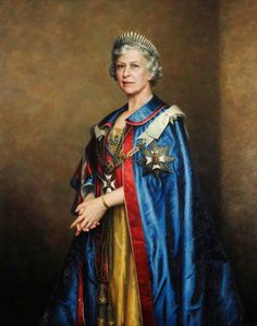 Leonard Monro Boden (1911-1999) —  HRH Princess Mary (1897-1965), the Princess Royal,  1958 The Gurkha Museum, Winchester.  UK   (745x944)