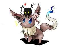 my lord ! Both my favorite pokemon and a cute heartless from my favorite game ever X3