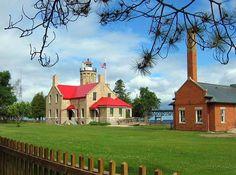 Mackinaw Point Lighthouse  Mackinaw Island, Mi.