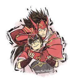 Ryoma and Son (damn whats his name)