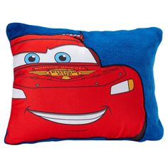 """Cars Red & Blue Throw Pillow (16""""x12"""")"""