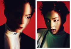 """[OFFICIAL] EXO EX'ACT """"Monster"""" XIUMIN teaser images"""