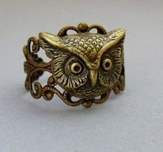 want it... owl ring