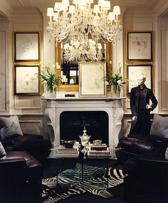 Stylish home: Ralph Lauren Home - Living Room Home Decoracion, Boho Home, Deco Design, Design Art, Beautiful Interiors, Interiores Design, Home And Living, Ralph Lauren Home Living Room, Interior Inspiration