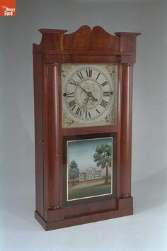 Shelf Clock, Made by Rodney Brace, 1831-1835
