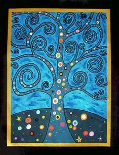 Gustav Klimt Representational | Gustav Klimt Representational | Peinture Tree of life