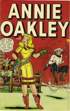 Dave Berg | Annie Oakley #3 | Timely | 1948