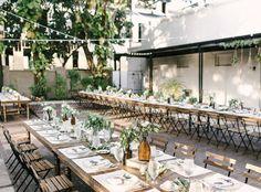 Ybor City Museum Courtyard Wedding Reception