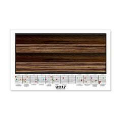 2017 Calendar Wood Planks Wall Decal  More than 100 to choose from.  Follow this link   http://www.cafepress.com/cheylines/14087576