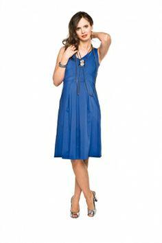 Sukienka Amila Niebieska/Dress Amila Blue http://maternity24.pl/pl/p/Sukienka-Amila-Niebieska/1494 #maternity #Wrocław #ciąża