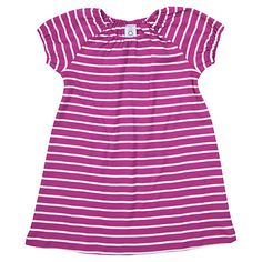 Buy Polarn O. Pyret Baby's Stripe Dress, Purple Online at johnlewis.com