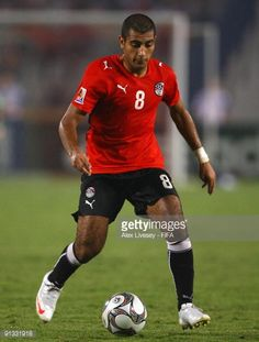 Shehab Ahmed of Egypt in action during the FIFA U20 World Cup Group A match between Italy and Egypt at the Cairo International Stadium on October 1...