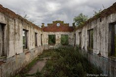 Abandoned Hydroelectric Power Station
