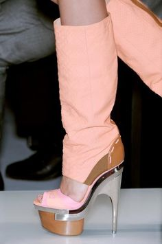Versace Shoes at Spring/Summer 2010