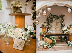 Upcycled Wedding design by Inviting Occasion Event Design  Found Vintage Rentals   Sargeant Photography   High Society Events