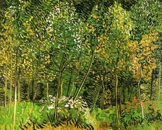 The Grove Vincent Van Gogh Reproduction | 1st Art Gallery