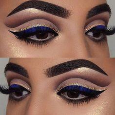 This eye makeup