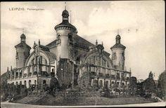 Leipzig, Palmengarten; Gesellschaftshaus um 1900