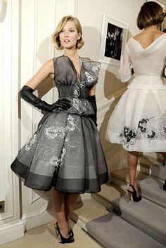 ❦ naimabarcelona:  @Toni Garrn at Dior Couture
