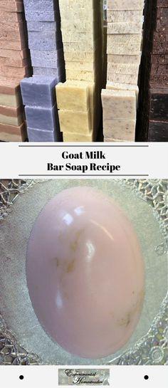 Goat Milk Bar Soap Recipe