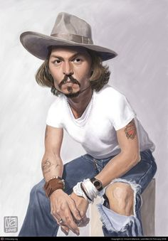 Johny Depp by Vincent Altamore