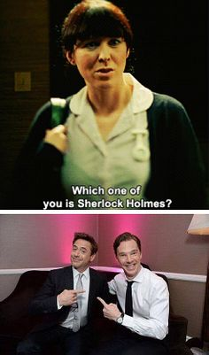 Who is Sherlock Holmes?- I've gotta go with Ben, even though I love RDJ.