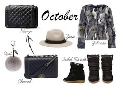 """OCTOBER"" by isabelle96-1 on Polyvore featuring Isabel Marant, Helen Moore, MANGO and Zara"