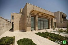 House Najafabad - Contemporary Architecture of Iran Contemporary Architecture, Beautiful Homes, Exterior, Mansions, House Styles, Iranian, Design, Home Decor, Future