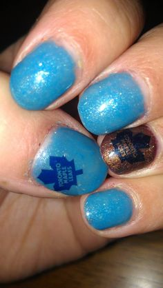 Toronto Maple Leafs Nails