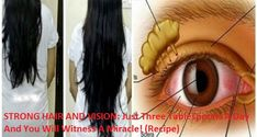 STRONG HAIR AND VISION: Just Three Tablespoons A Day And You Will Witness A Miracle! (Recipe) - Global Health ABC