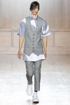 Alexander McQueen Spring 2015 Menswear Collection Slideshow on Style.com