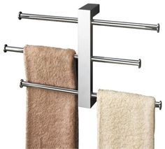 contemporary shower door towel racks and stands Guide to Choosing Towel Ideas for The Bathroom
